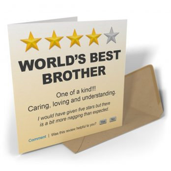 World's Best Brother One Of A Kind!!!