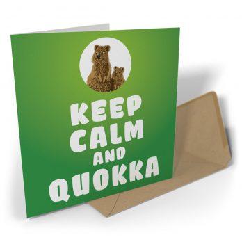 Keep Calm And Quokka