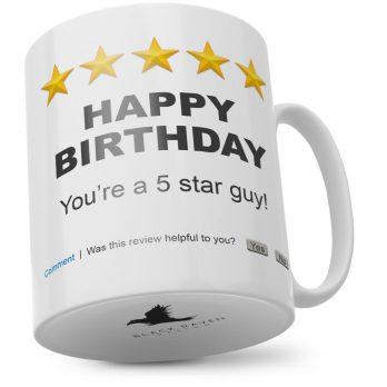 Happy Birthday You're A 5 Star Guy!