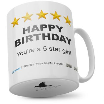 Happy Birthday You're A 5 Star Girl!