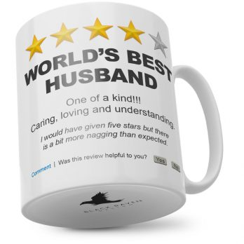 World's Best Husband One Of A Kind!!!