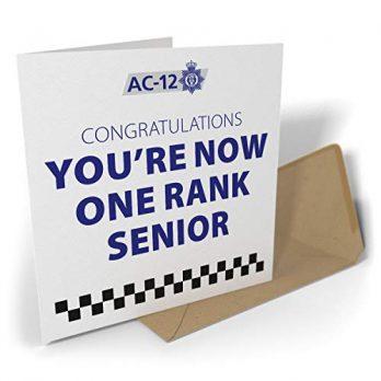 Congratulations – You're Now One Rank Senior