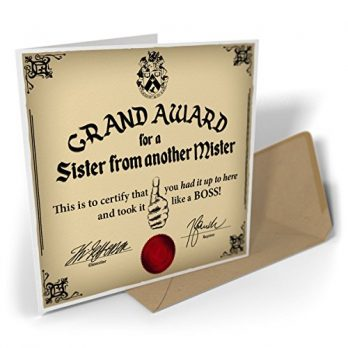 Grand Award For A Sister From Another Mister