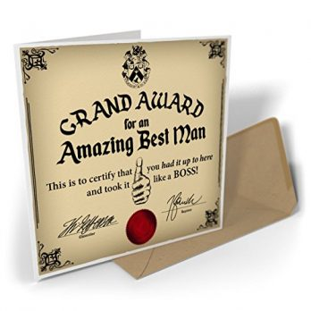 Grand Award For An Amazing Best Man