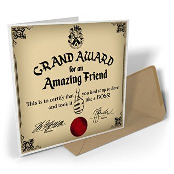 Grand Award For An Amazing Friend