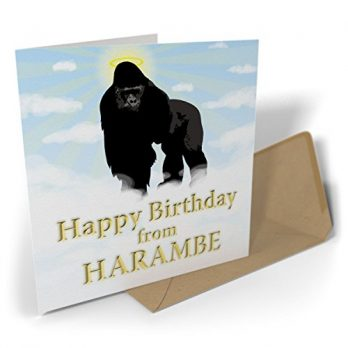 Happy Birthday From Harambe