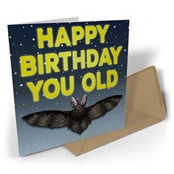 Happy Birthday You Old Bat