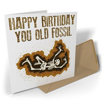 Happy Birthday You Old Fossil