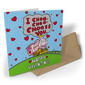 I Choo-Choo-Choose You Happy Valentines