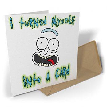 I Turned Myself Into A Card