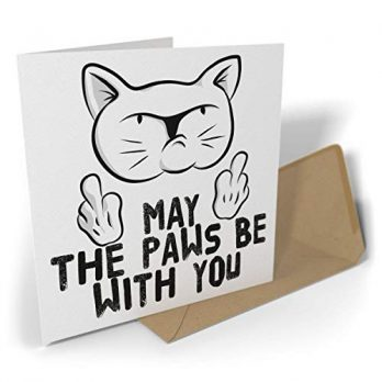 May the Paws Be with You | Rude Cat