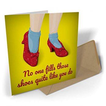 No One Fills Those Shoes Quite Like You Do
