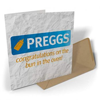 Preggs Congratulation On The Bun In The Oven