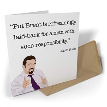 Put Brent Is Refreshingly Laid-Back For A Man With Such Responsibility.