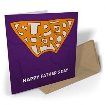 Super Hero – Happy Father's Day