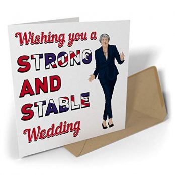 Wishing You A Strong And Stable Wedding