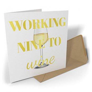 Working Nine To Wine | White
