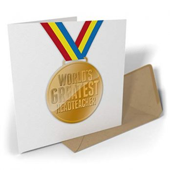 World's Greatest Headteacher Medal