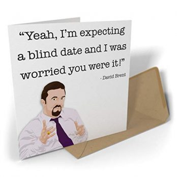 Yeah, I'm Expecting A Blind Date And I Was Worried You Were It!