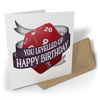 You Levelled Up – Happy Birthday