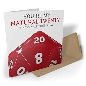 You're My Natural Twenty – Happy Valentine's Day