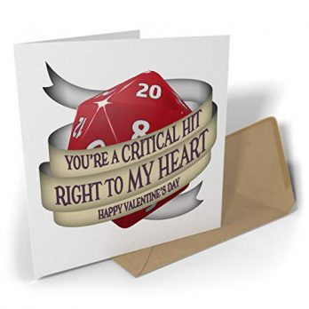 You're a Critical Hit Right to My Heart – Happy Valentine's Day
