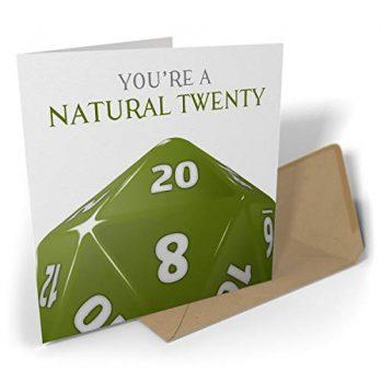 You're a Natural Twenty