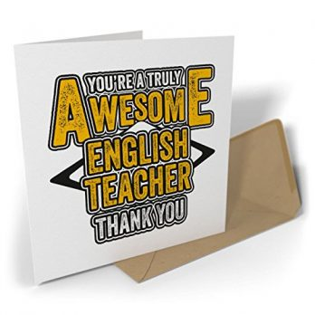 You're a Truly Awesome English Teacher – Thank You
