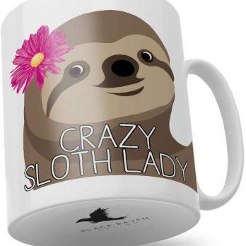Crazy Sloth Lady
