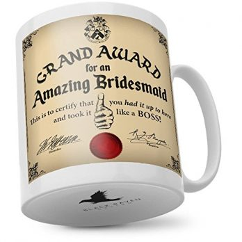 Grand Award For an Amazing Bridesmaid