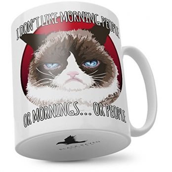 Grumpy Cat | I Don't Like Morning People Or Mornings Or People