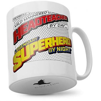 Mild Mannered Headteacher by Day…Legendary Superhero by Night