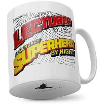 Mild Mannered Lecturer by Day…Legendary Superhero by Night