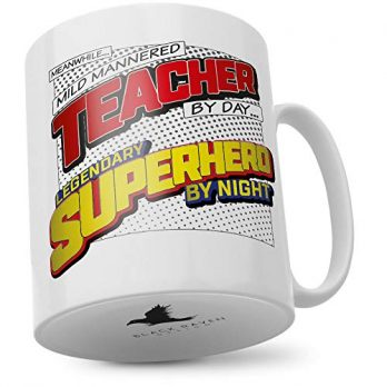 Mild Mannered Teacher by Day…Legendary Superhero by Night