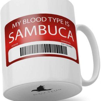 My Blood Type is Sambuca