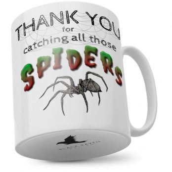 Thank You for Catching All Those Spiders