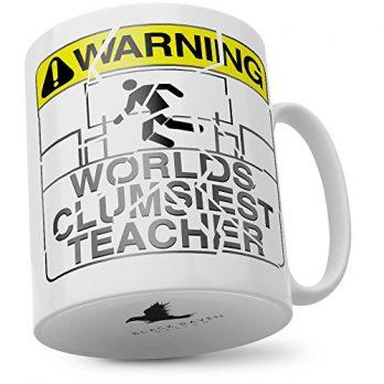 Warning World's Clumsiest Teacher