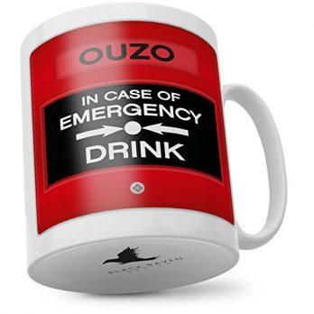in Case of Emergency Drink Ouzo